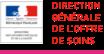 Logo Direction Générale de l'Offre de soins (DGOS)