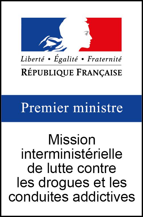 Logo Mission interministérielle de lutte contre les drogues et les conduites addictives (MILDECA)