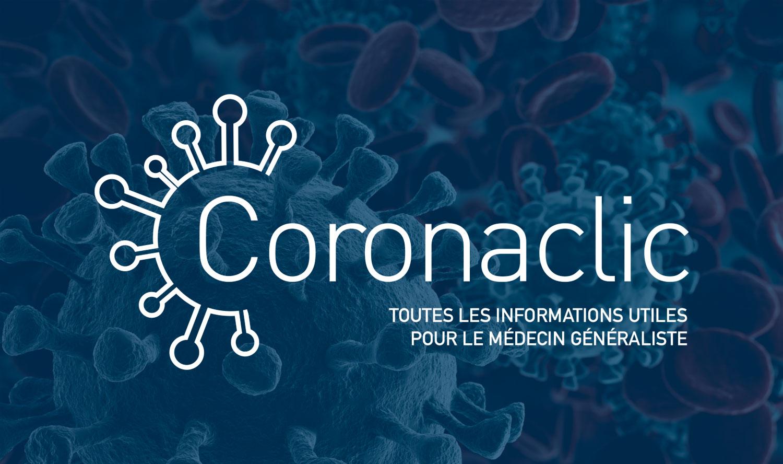 Coronaclic : toutes les informations utiles pour le médecin généraliste